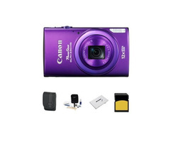 Canon PowerShot ELPH 340 HS Digital Camera Bundle
