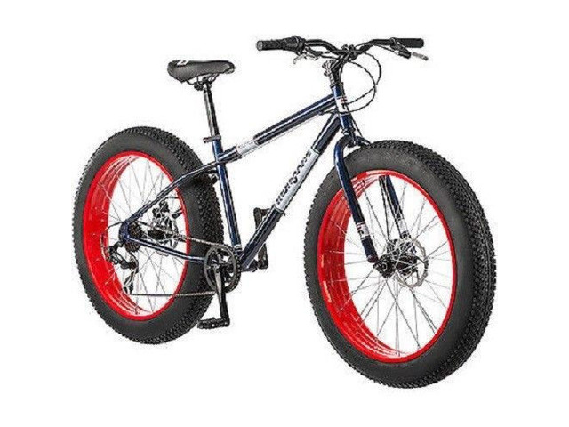 Mongoose Dolomite Men's 7-speed Fat Tire Mountain Bike
