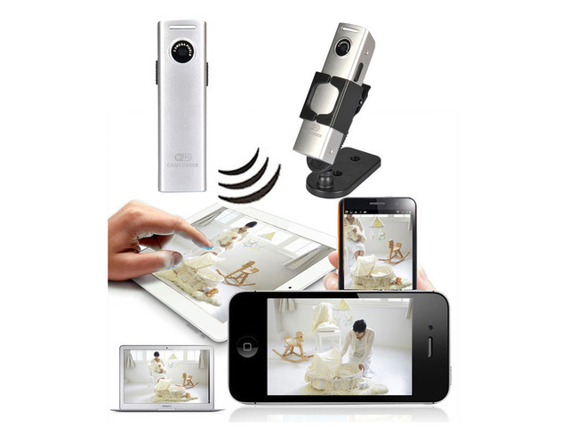 Wifi Wireless Mini Spy Hidden Security Surveillance Camera For Android IOS PC